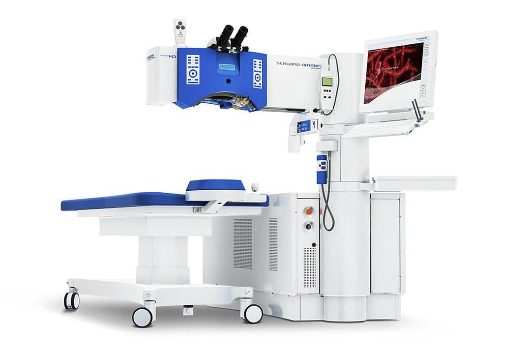 EYEMUNICH Lasersystem SCHWIND AMARIS 1050RS